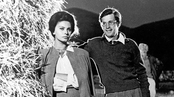 Sophia Loren und Jean-Paul Belmondo