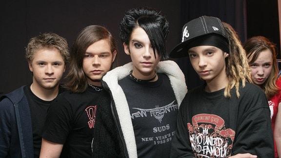 Die Band Tokio Hotel.