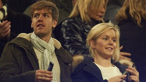 Sebastian Vettel mit Freundin Hanna