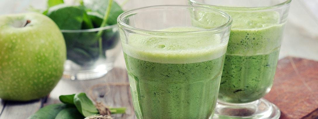 Grüner Apfel-Haferflocken-Smoothie zur Gewichtsreduktion