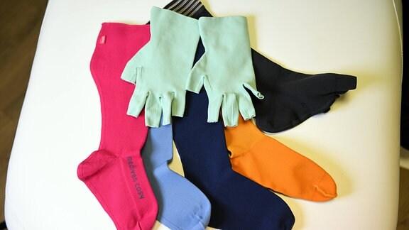 Lipödem Handschuhe und Strümpfe