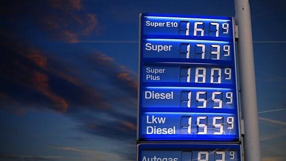 Benzinpreise auf Rekordniveau