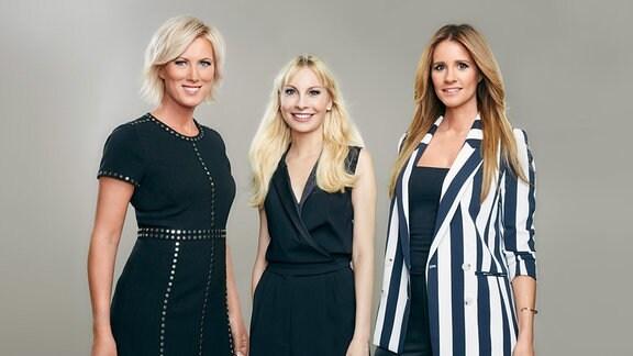Teamfoto - Kamilla Senjo, Susanne Klehn und Mareile Höppner (v.l.)