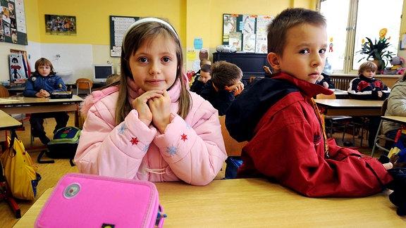 Frieren in der Schule