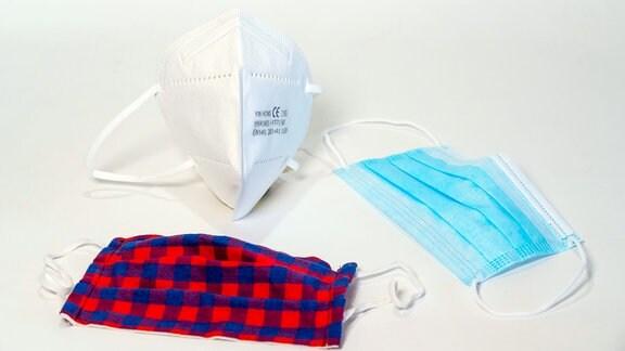 Schutzmasken, FFP2, Alltagsmaske