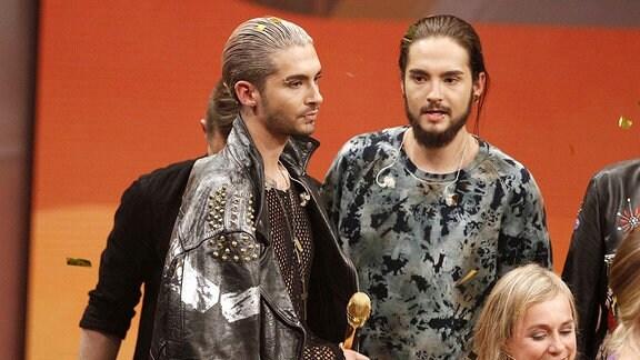 Bill Kaulitz, Tom Kaulitz von Tokio Hotel, 2014