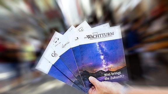 Wachtturm -Broschüre der Zeugen Jehovas