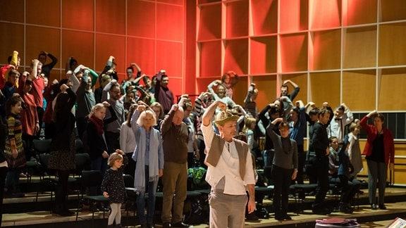 """Das MDR-Familienkonzert """"Ludwig Fun"""" im MDR-Studio am Leipziger Augustusplatz"""