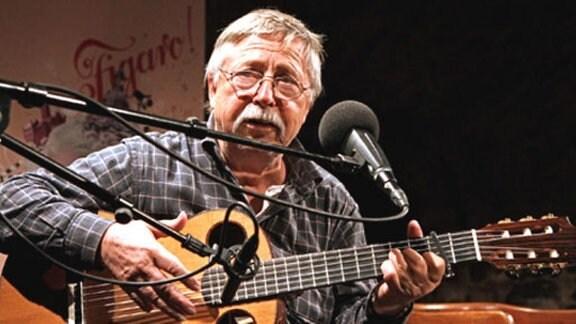 Der Dichter und Liedermacher Wolf Biermann, 2009