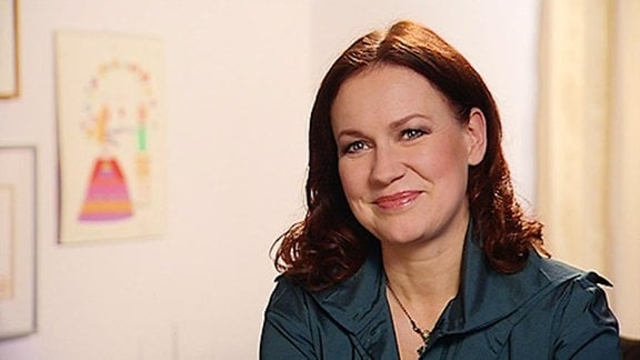 TV-Ansagerin und Moderatorin Andrea Horn