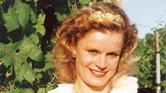Weinkönigin Annett Meichsner