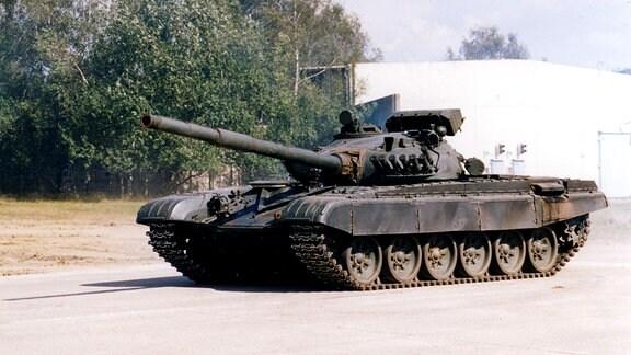Russischer Panzer vom Typ T 72