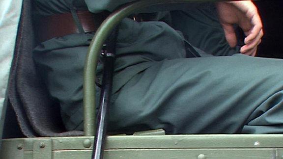 Schlagstock Volkspolizist