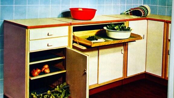 Beispiel für Funktionalität der Kücheneinrichtung