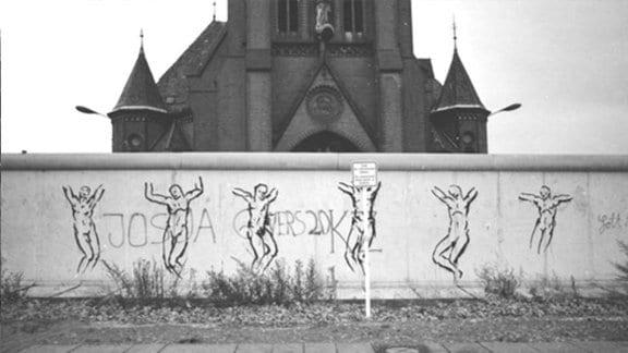 Versöhnungskirche Berlin Bernauer Straße 1982/2012