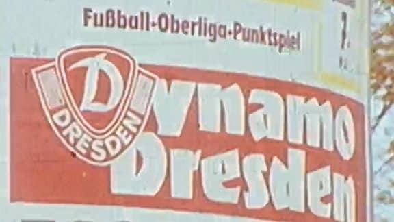 Plakat des Dynamo Dresden
