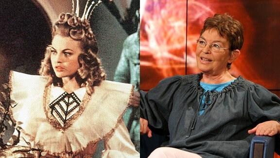 Christel Bodenstein als Prinzessin 1957 und im Interview 2007