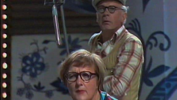 Helga Hahnemann und Rolf Herricht