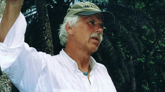 Konrad Herrmann in Bolivien.