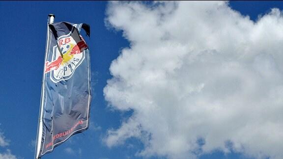Vereinsfahne von RB Leipzig