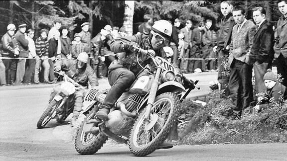 Bernd Uhlmann, dreifacher Trophy-Sieger bei den Six Days 1963 bis 1965