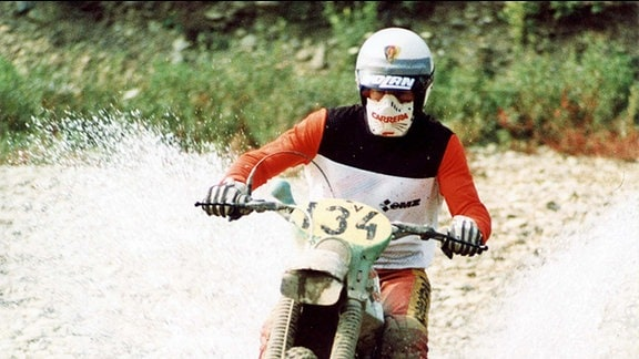 Uwe Weber, Trophy-Sieger/Mannschafts-Weltmeister 1987 und Silbervasen-Gewinner bei den Six Days 1982