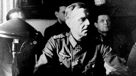 Generalfeldmarschall Friedrich Paulus nach der Kapitulation 1943