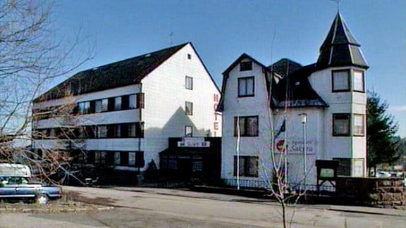 "das Hotel ""Sakura"" in Oberhof"