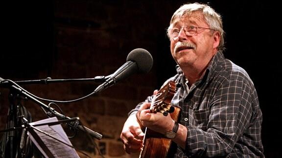 Liedermacher und Dichter Wolf Biermann