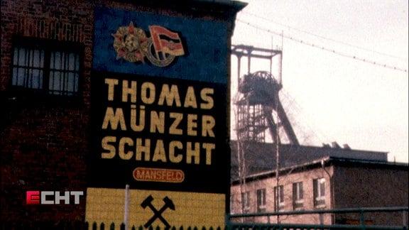 Thomas-Münzer-Schacht in den 80er-Jahren