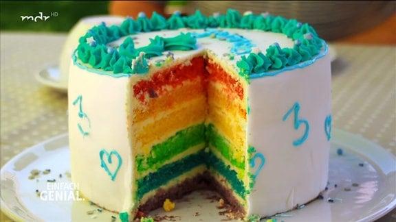 bunte Torte
