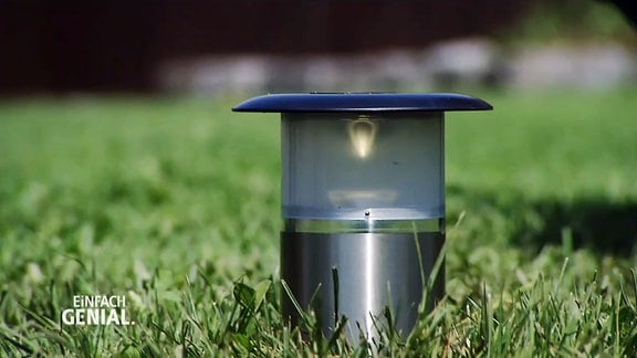 Die versenkbare Gartenbeleuchtung