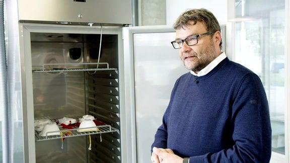 Plasma-Kühlschrank