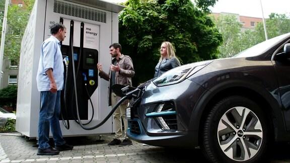 E-Auto-Ladestation ohne Stromnetzanschluss
