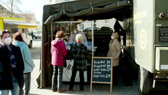 Eine mobile Bäckerei.