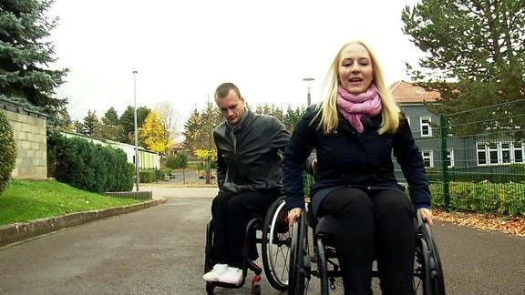 Einfach genial - Rollstuhl-Parcours