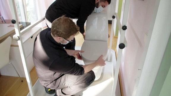 Einfach genial - Mobiles Badezimmer