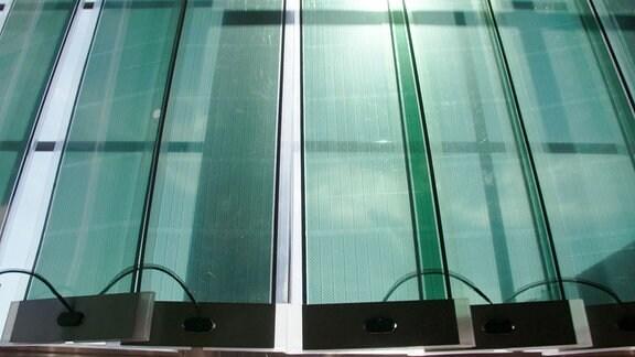 Ein Fenstervorhang aus Solarzellen