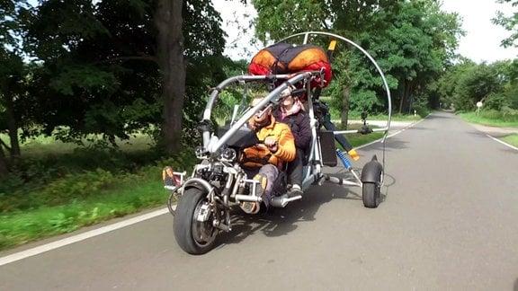 Fahrzeug ohne Fallschirm