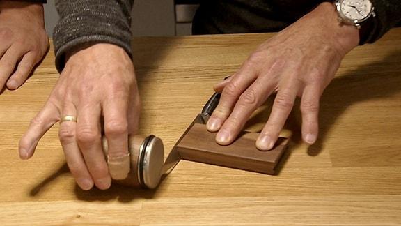 runder Messerschleifer