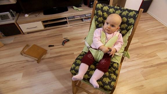 mitwachsender Stuhl