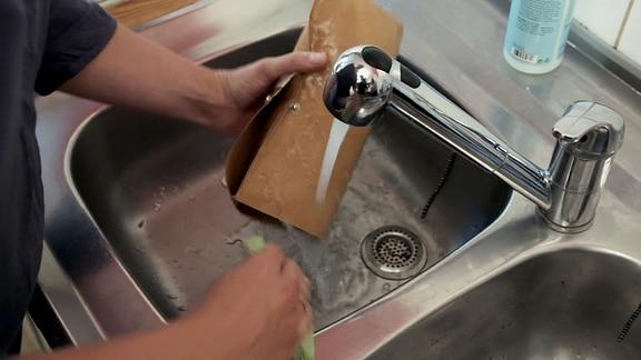 waschbare Papiertüte