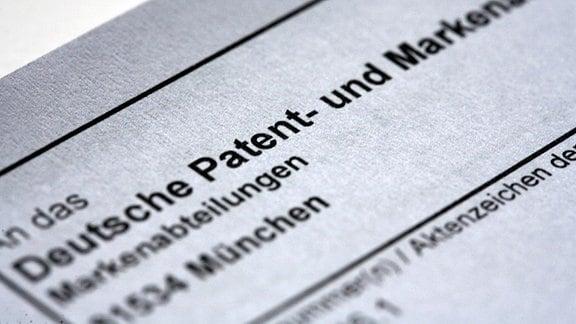 Deutsche Patent-Papiere
