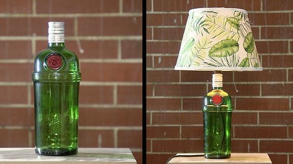 Lampen aus alten Flaschen