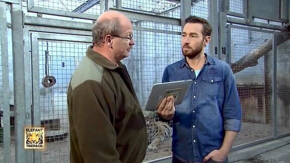 Sven Voss im Gespräch mit Gerd Nötzold zum Thema Tigerzuchtprogramm