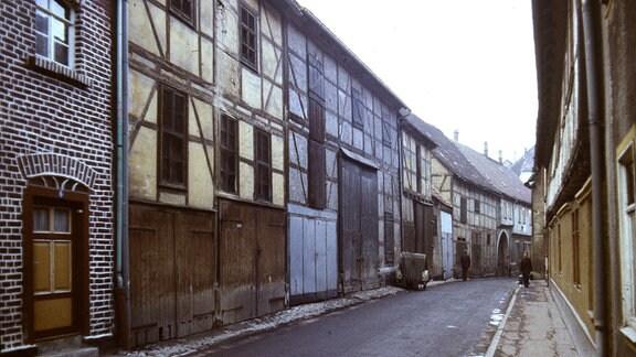Gasse Rumpelburg - Bad Langensalza