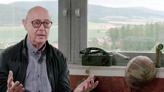 """Bertold Dücker in: """"Point Alpha - Der heißeste Punkt des Kalten Krieges""""."""