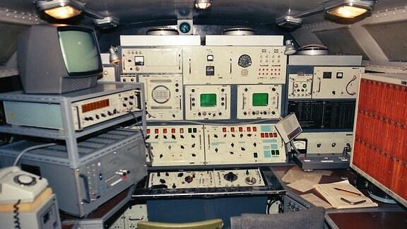 Computer und Bildschirme an Bord der TAMARA