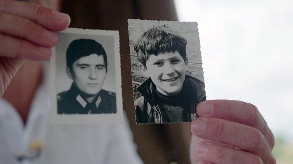 Axel Bretfeld über den Selbstmord seines Bruders an der Grenze in: 'Point Alpha - Der heißeste Punkt des Kalten Krieges'