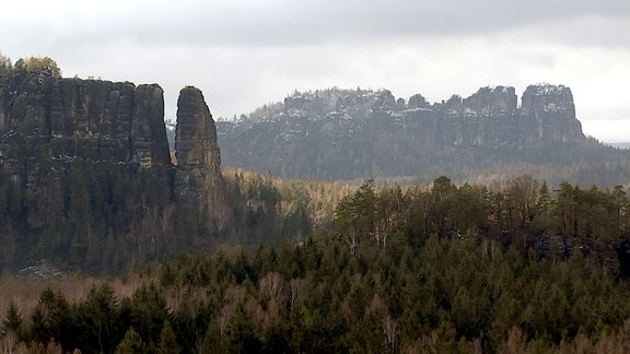 Eine Felsformation